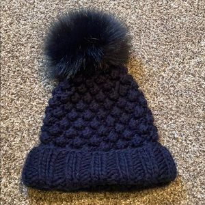 Puff Ball Knitted Hat